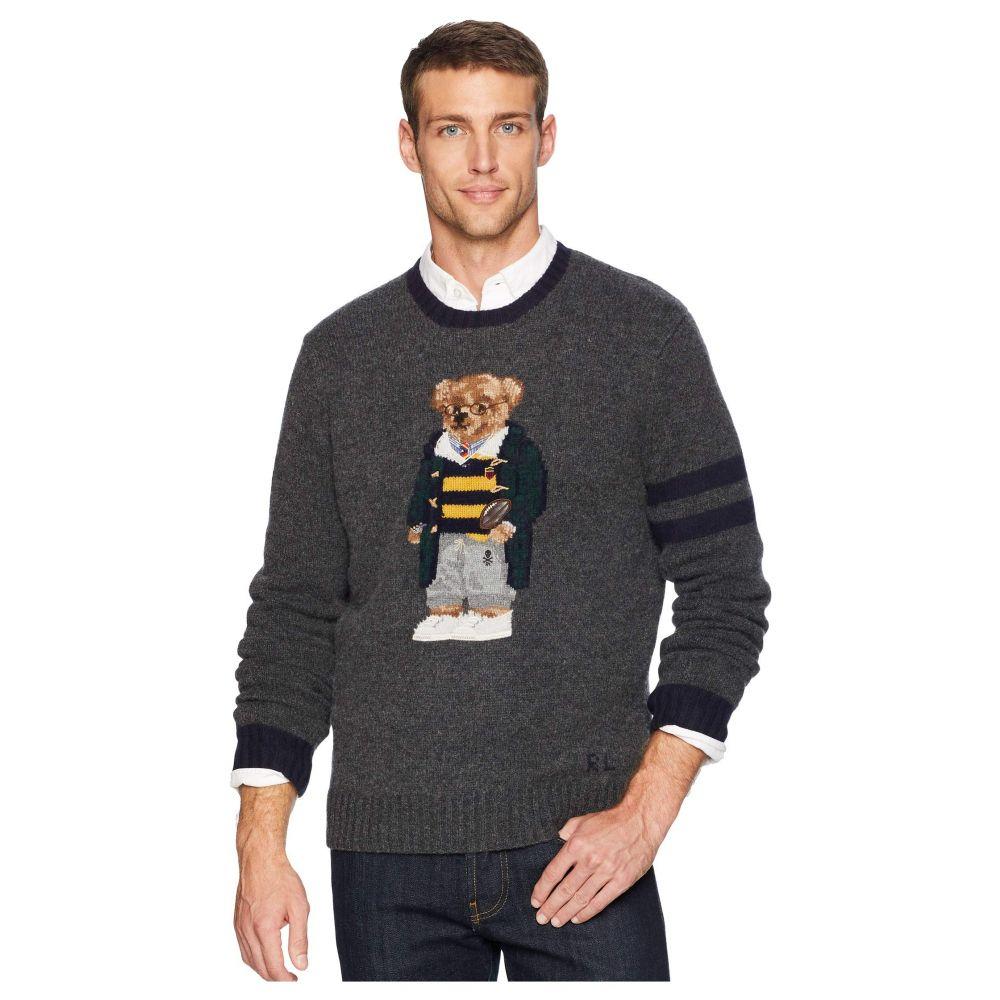 ラルフ ローレン Polo Ralph Lauren メンズ トップス ニット・セーター【Bear Sweater】Grey Heather
