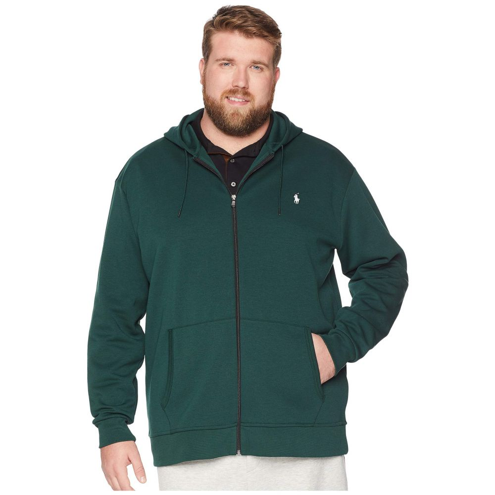 ラルフ ローレン Polo Ralph Lauren メンズ トップス【Big & Tall Double Knit Full Zip】College Green