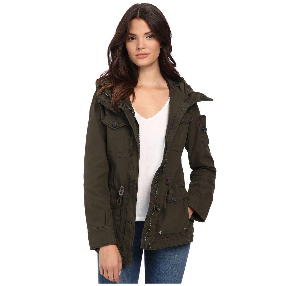 リーバイス Levi's レディース アウター ジャケット【Washed Cotton Fashion Four-Pocket Military w/ Hood】Army Green