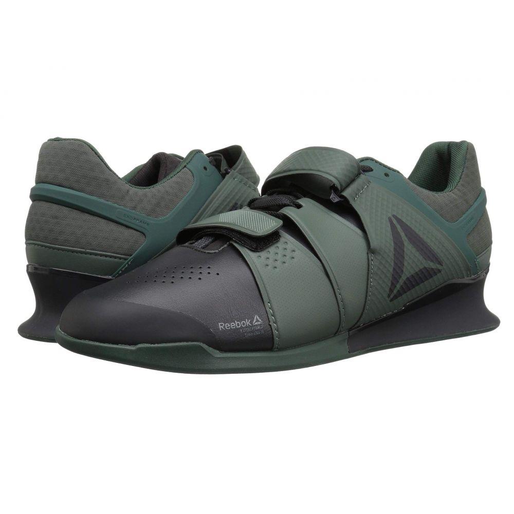 リーボック Reebok メンズ シューズ・靴【Legacy Lifter】Coal/Chalk Green/Industrial Green
