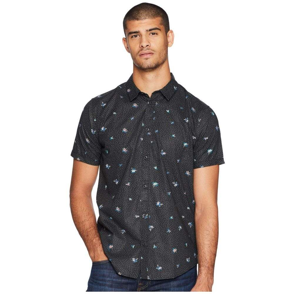 ルーカ RVCA メンズ トップス シャツ【Scattered Printed Button-Up Shirt】RVCA Black