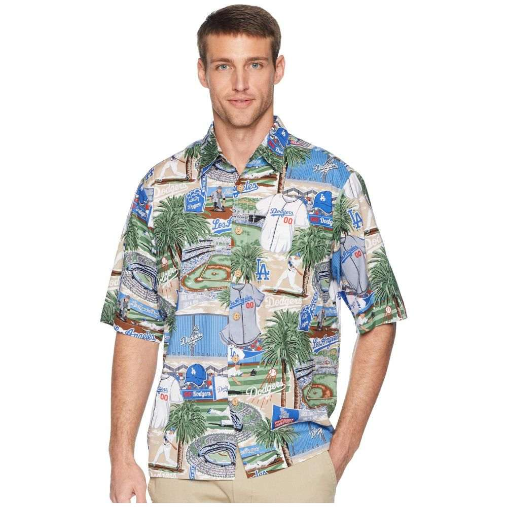 レインスプーナー Reyn Spooner メンズ トップス シャツ【Los Angeles Dodgers Classic Fit Hawaiian Shirt】Scenic
