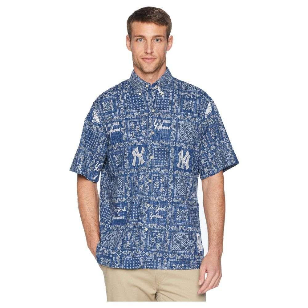 レインスプーナー Reyn Spooner メンズ トップス シャツ【New York Yankees Original Lahaina Classic Fit Hawaiian Shirt】Navy