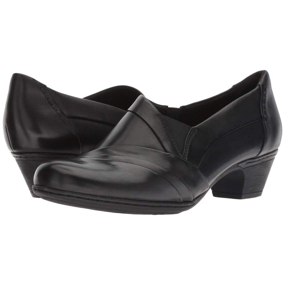 ロックポート Rockport Cobb Hill Collection レディース シューズ・靴 スリッポン・フラット【Cobb Hill Abbott Slip-On】Black Leather
