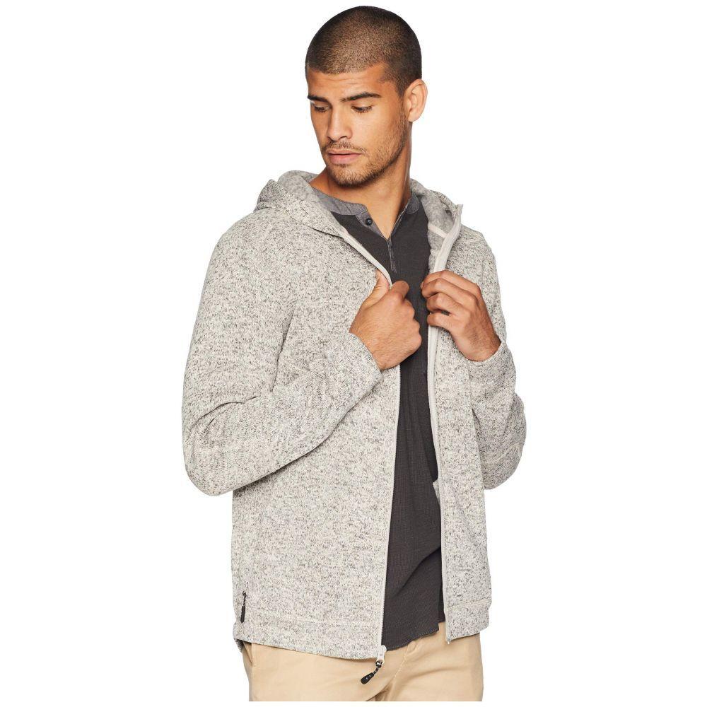 ローアク Roark メンズ トップス フリース【Roadrunner Zip Fleece】Grey