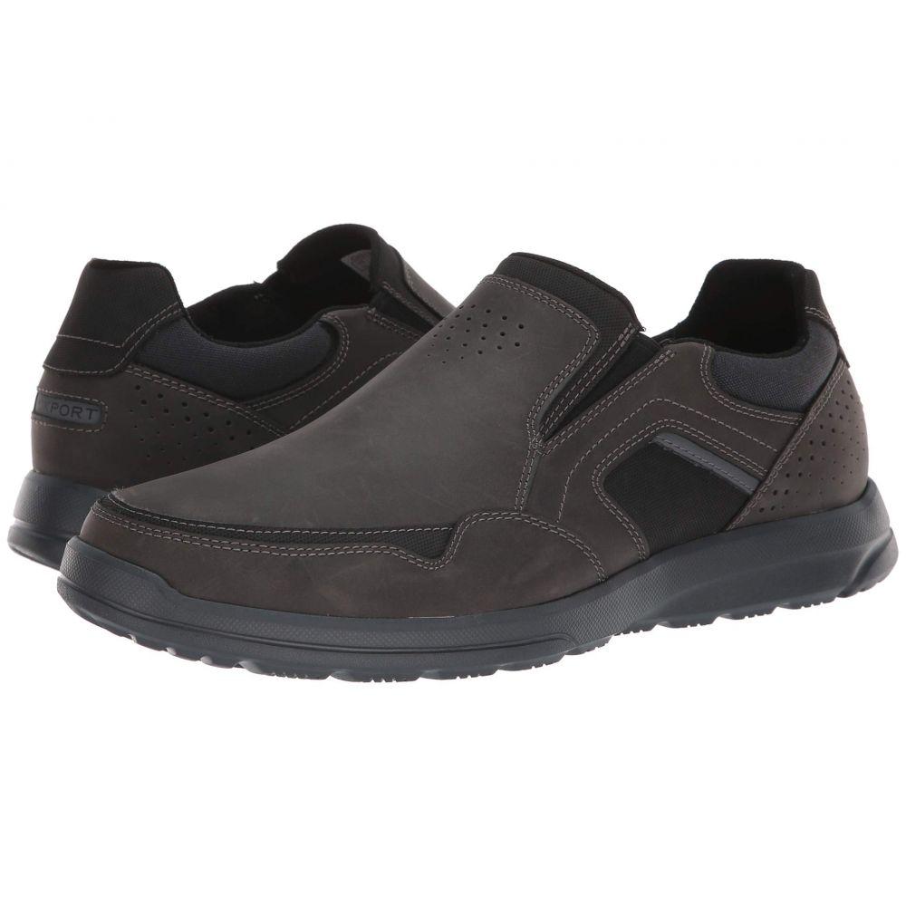 ロックポート Rockport メンズ シューズ・靴 スリッポン・フラット【Welker Casual Slip-On】Iron