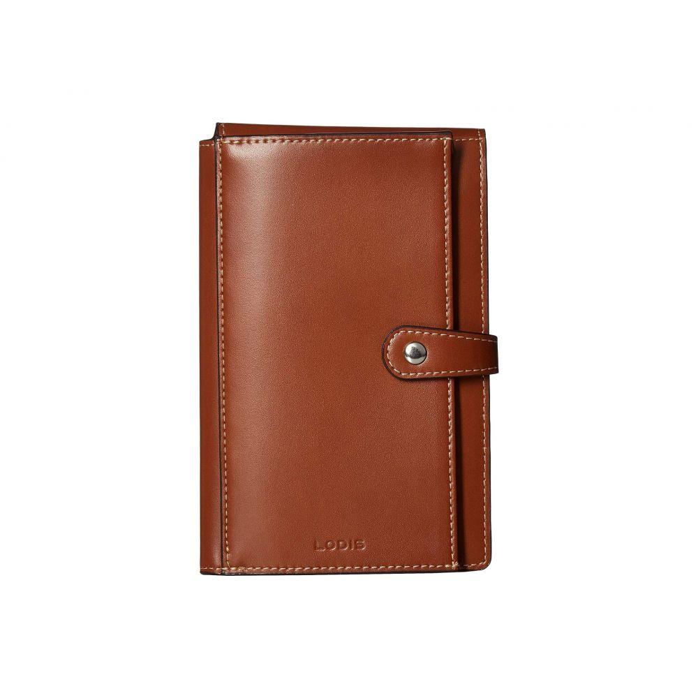 ロディス アクセサリー Lodis Accessories レディース パスポートケース【Audrey RFID New Passport Wallet】Sequoia