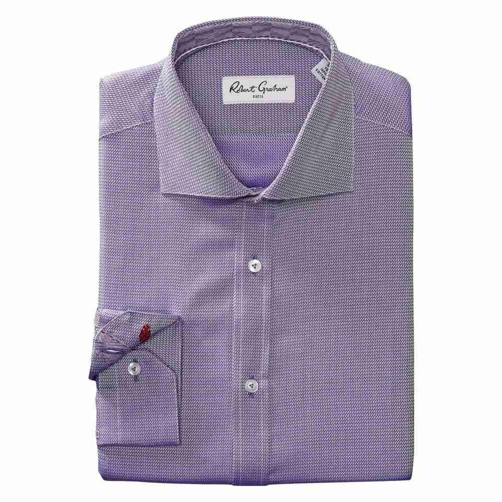 ロバートグラハム Robert Graham メンズ トップス シャツ【Joy Dress Shirt】Purple