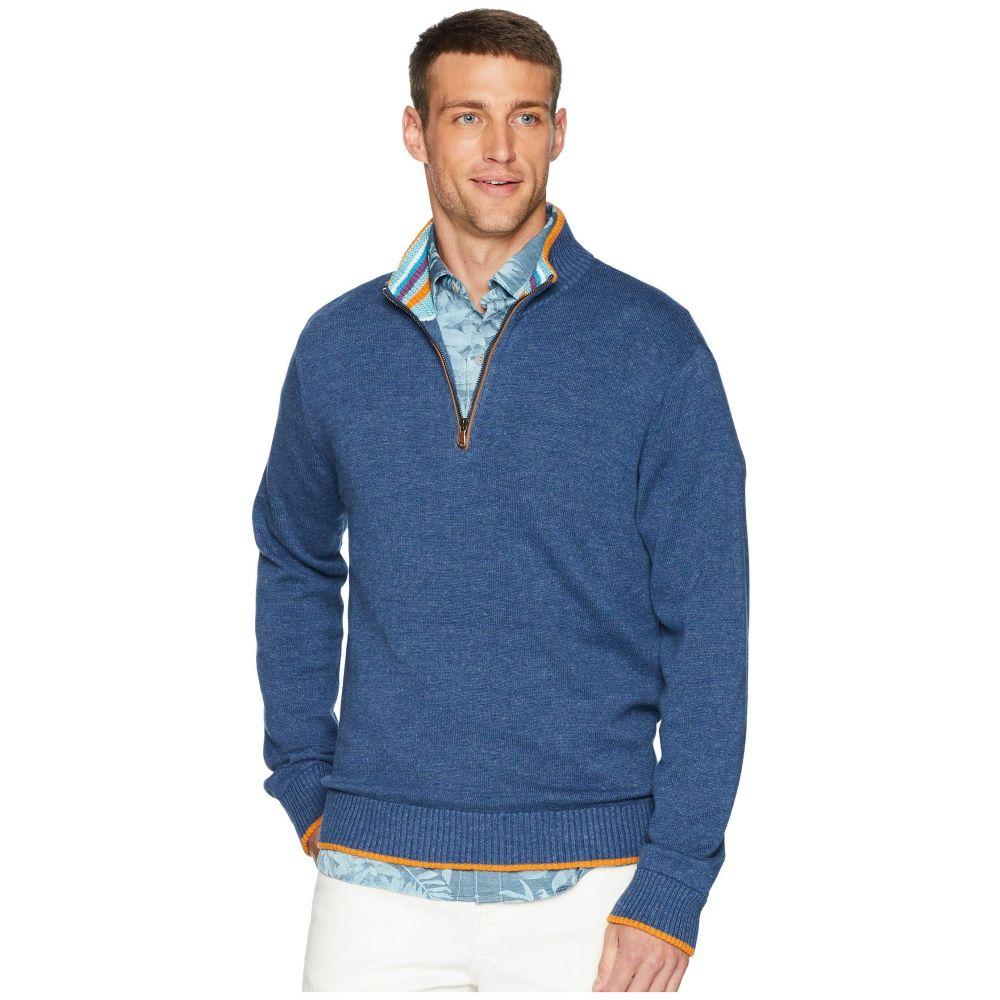 ロバートグラハム Robert Graham メンズ トップス ニット・セーター【Cavalry Sweater】Heather Denim