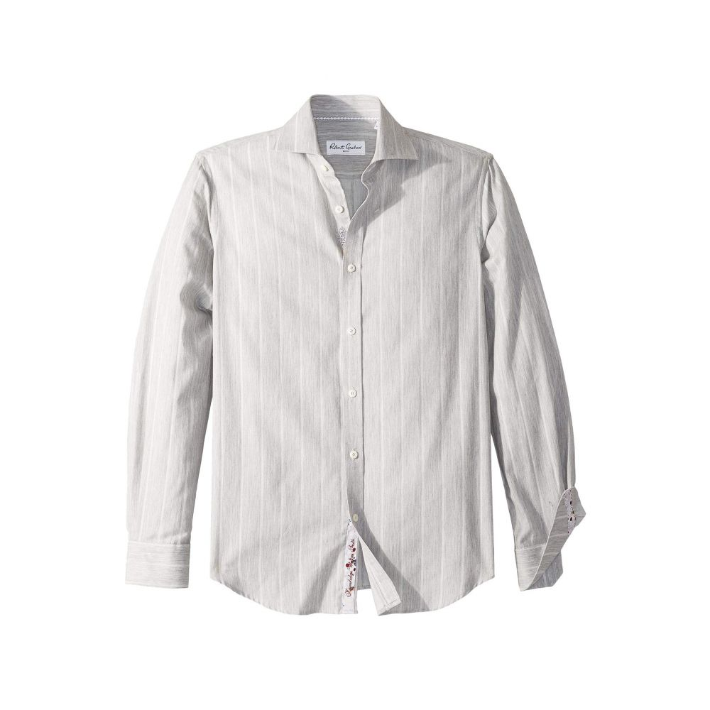 ロバートグラハム Robert Graham メンズ トップス シャツ【Storm - Stripe Dress Shirt】Grey