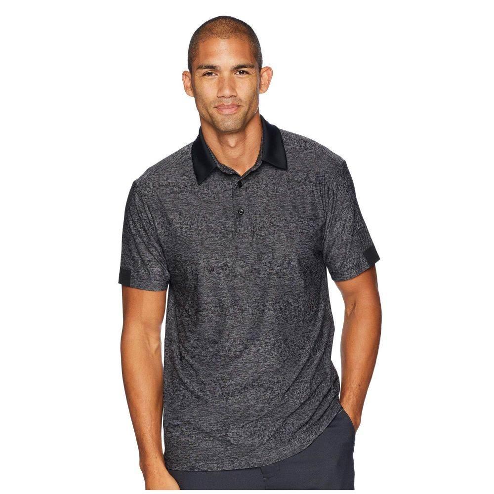 アンダーアーマー Under Armour Golf メンズ トップス ポロシャツ【UA Playoff Polo】Black Medium Heather/Black/Black