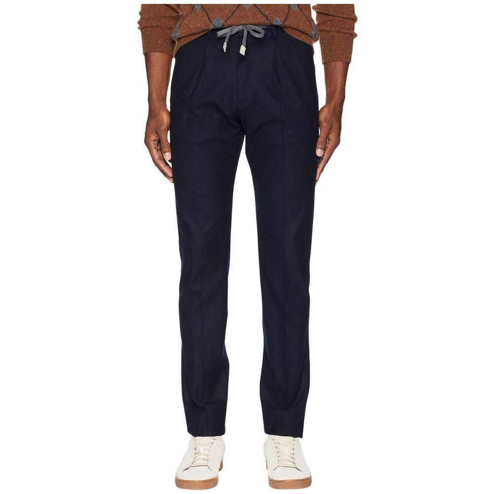 イレブンティ eleventy メンズ ボトムス・パンツ ジョガーパンツ【Stretch Flannel Jogger Pants】Navy