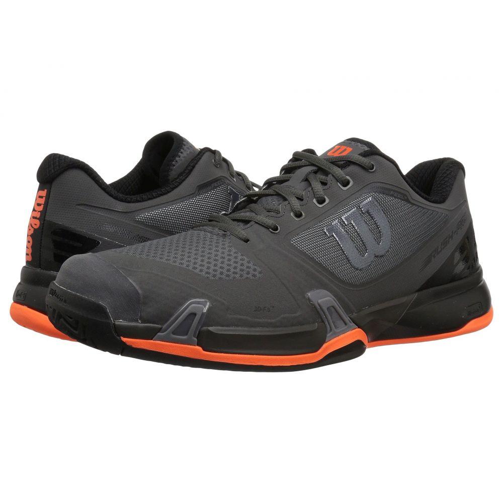 ウィルソン Wilson メンズ テニス シューズ・靴【Rush Pro 2.5】Magnet/Black/Shocking Orange