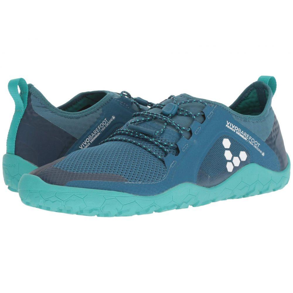 ヴィヴォ ベアフット Vivobarefoot メンズ ランニング・ウォーキング シューズ・靴【Primus Swimrun FG Mesh】Blue