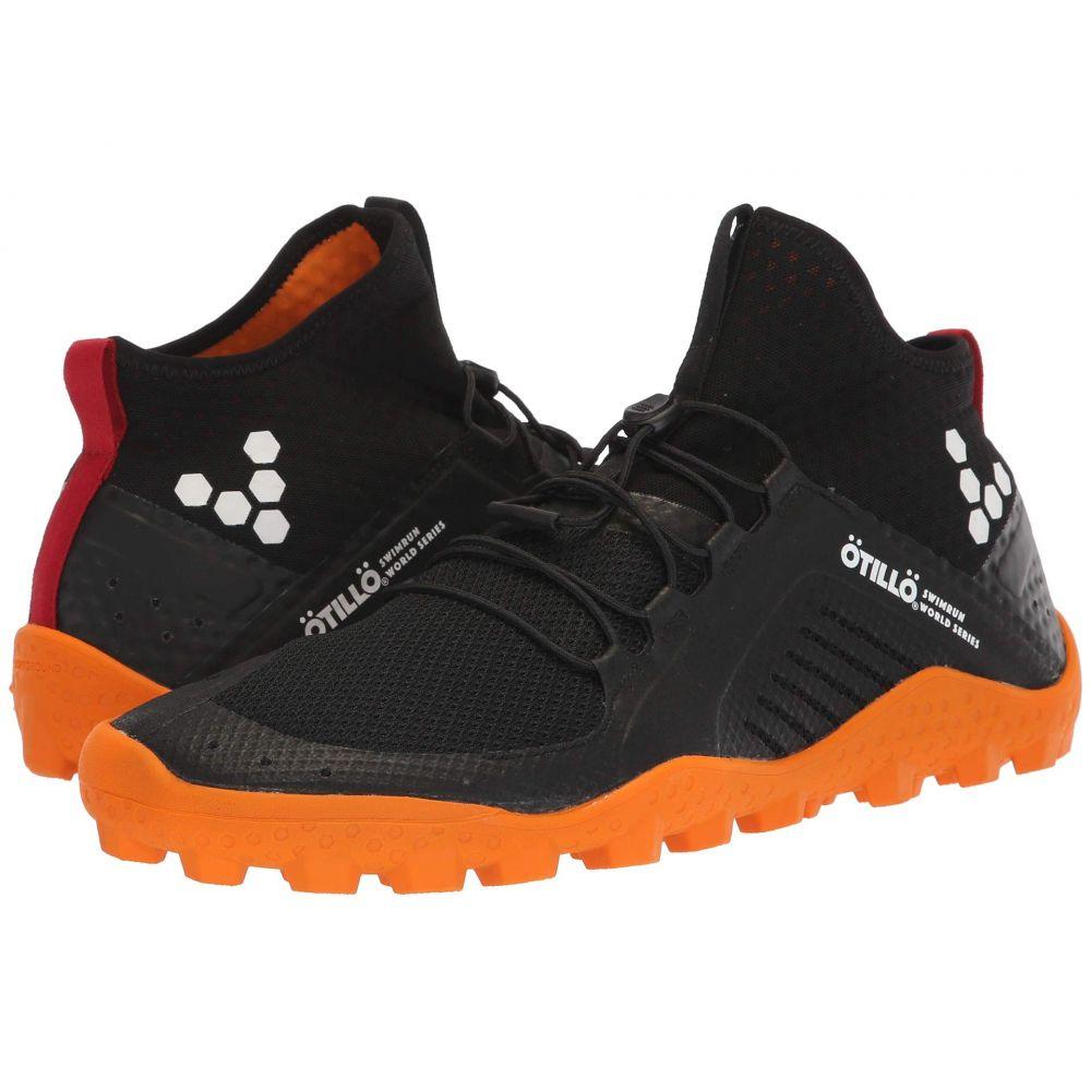 ヴィヴォ ベアフット Vivobarefoot メンズ ランニング・ウォーキング シューズ・靴【Primus Swimrun Boot Soft Ground Mesh】Black/Orange