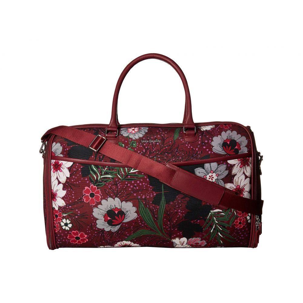 ヴェラ ブラッドリー Vera Bradley レディース バッグ【Iconic Convertible Garment Bag】Bordeaux Meadow