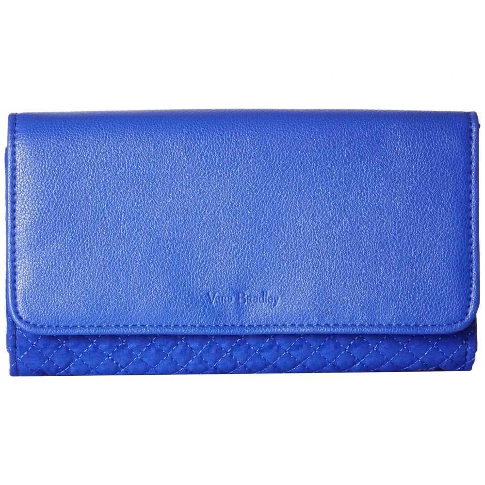 ヴェラ ブラッドリー Vera Bradley レディース 財布【Iconic RFID Audrey Wallet】Gage Blue