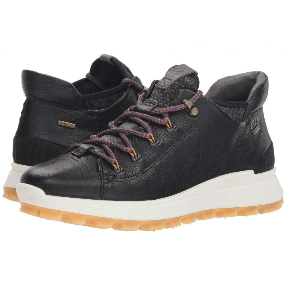 エコー ECCO Sport レディース ハイキング・登山 シューズ・靴【Exostrike GORE-TEX Mid】Black/Black
