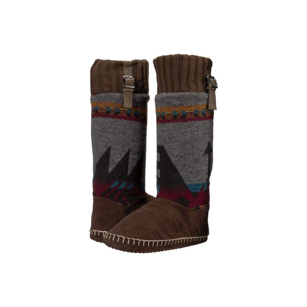 エムアンドエフ ウエスタン M&F Western メンズ シューズ・靴 スリッパ【Victoria】Chocolate/Grey