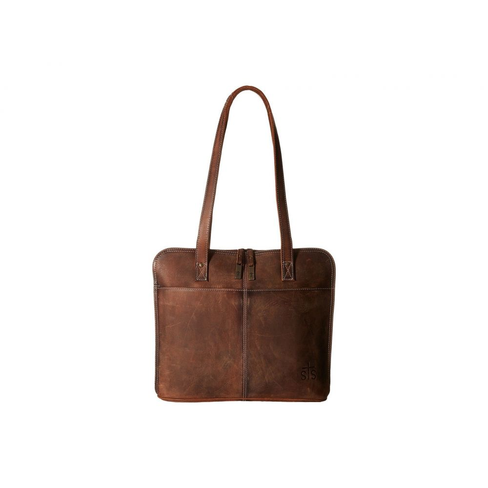 STSランチウェア STS Ranchwear レディース バッグ パソコンバッグ【The Baroness Laptop Shopper】Brown