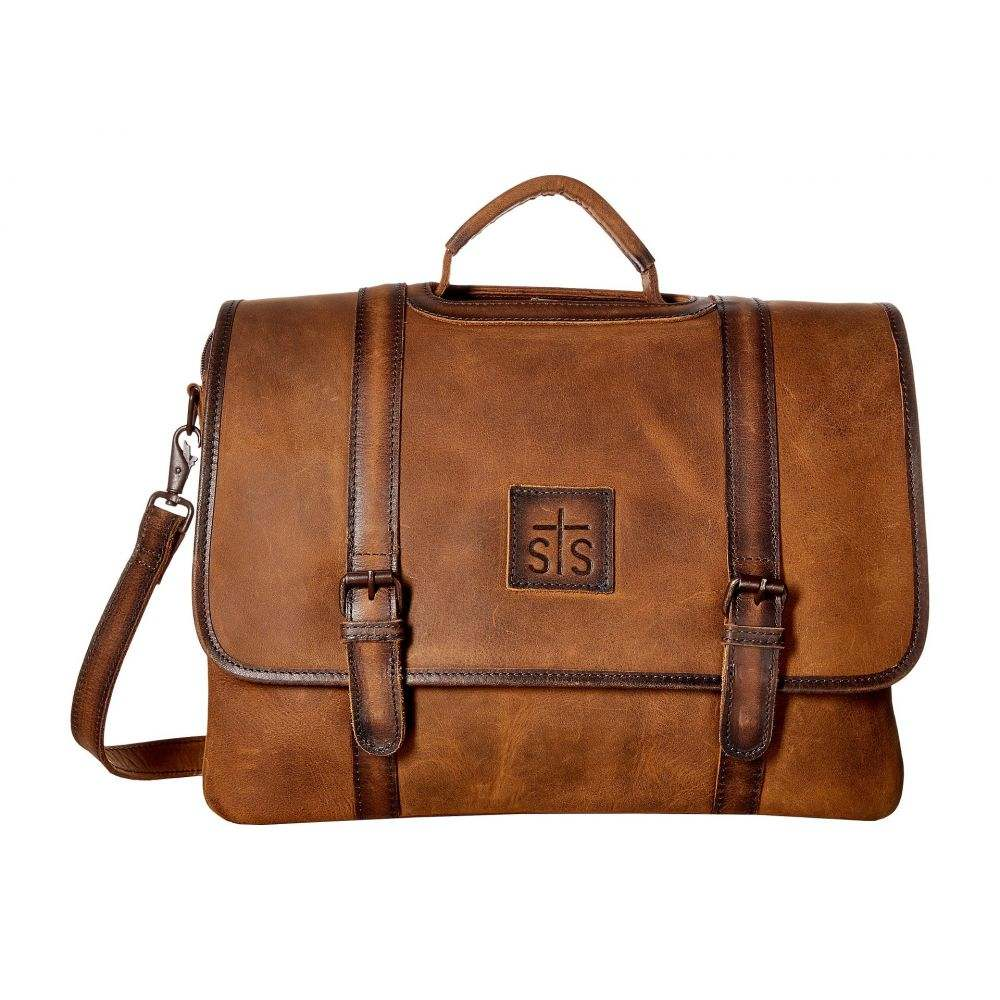 STSランチウェア STS Ranchwear メンズ バッグ ビジネスバッグ・ブリーフケース【The Foreman Dispatch Case】Brown
