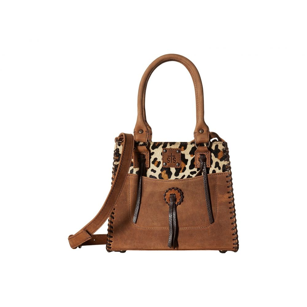 STSランチウェア STS Ranchwear レディース バッグ トートバッグ【Chaps Purse】Leopard/Tornado Brown