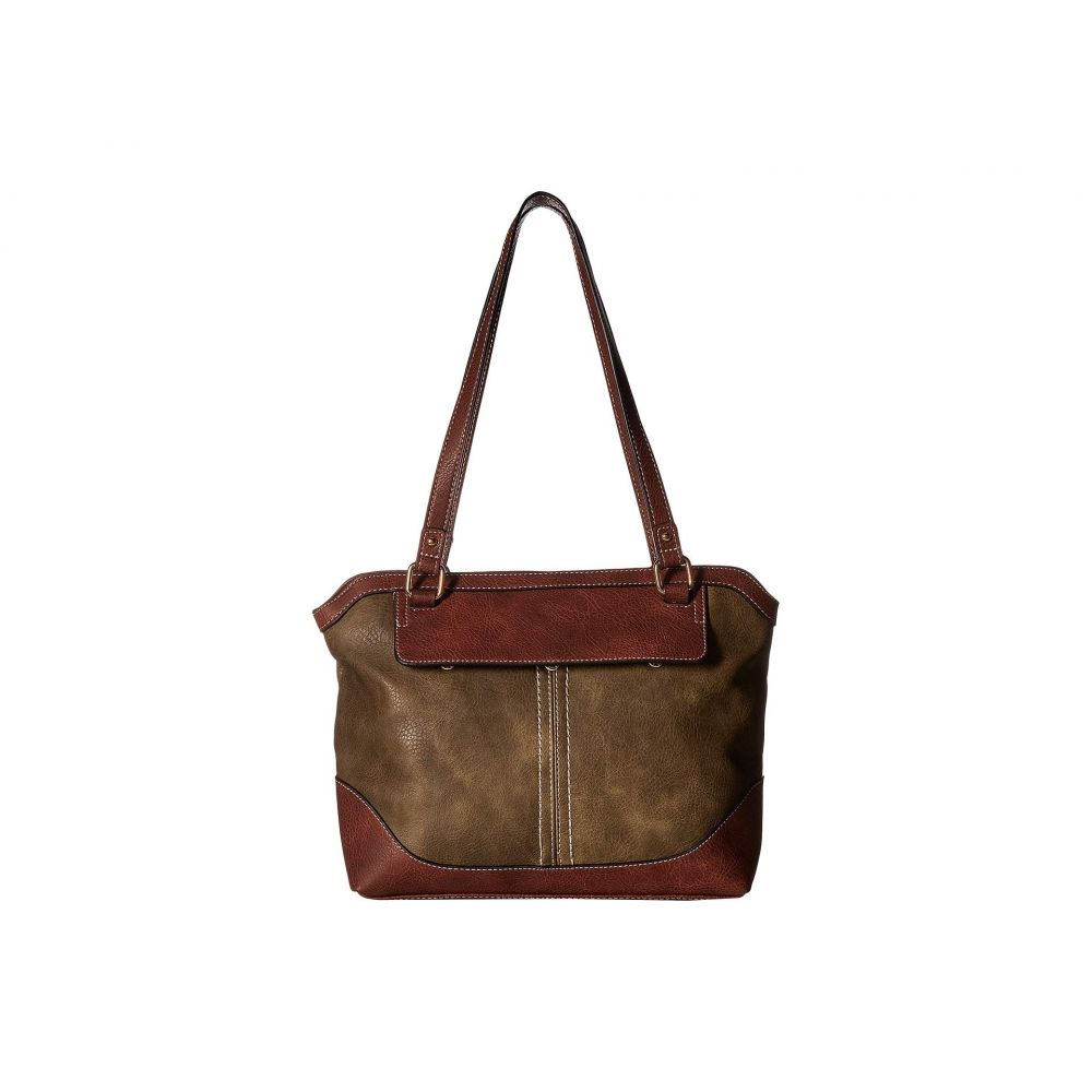 b.o.c. レディース バッグ トートバッグ【Lyford Tote with Detachable Crossbody】Olive/Chocolate