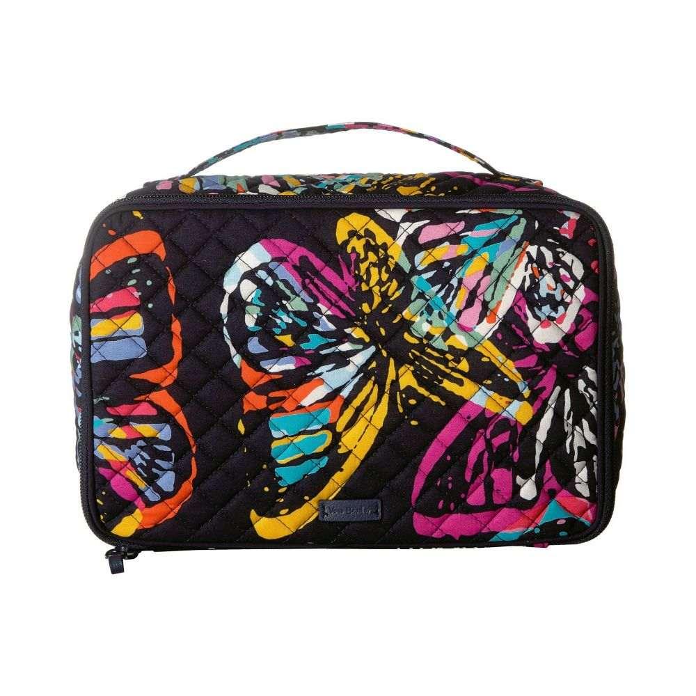 ヴェラ ブラッドリー Vera Bradley レディース 雑貨【Iconic Large Blush & Brush Case】Butterfly Flutter