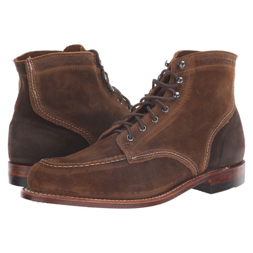 ウルヴァリン Wolverine メンズ シューズ・靴 ブーツ【1000 Mile 6' 1940 Boot】Dark Tan Suede