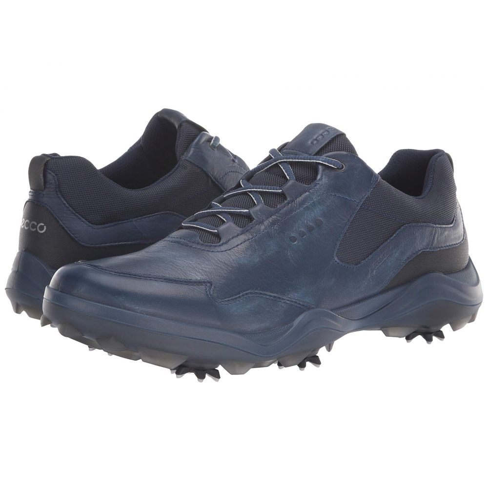 エコー ECCO Golf メンズ ゴルフ シューズ・靴【Strike GORE-TEX】True Navy