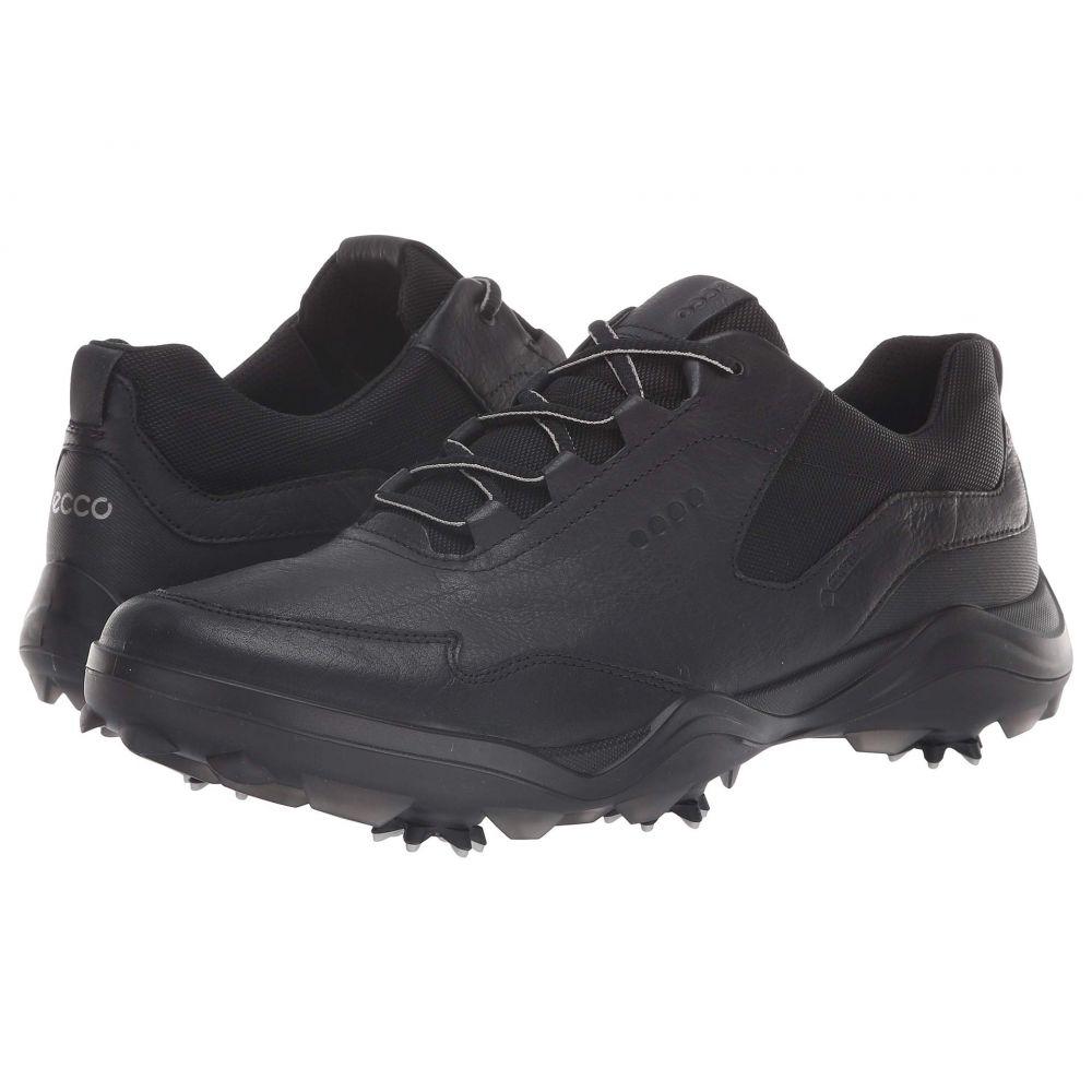 エコー ECCO Golf メンズ ゴルフ シューズ・靴【Strike GORE-TEX】Black