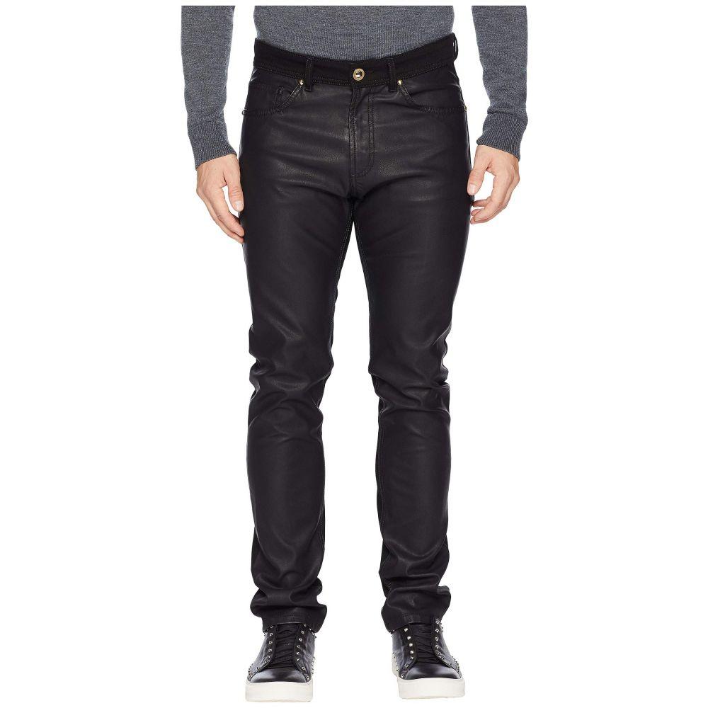 ヴェルサーチ Versace Jeans メンズ ボトムス・パンツ ジーンズ・デニム【Black Jeans】Black