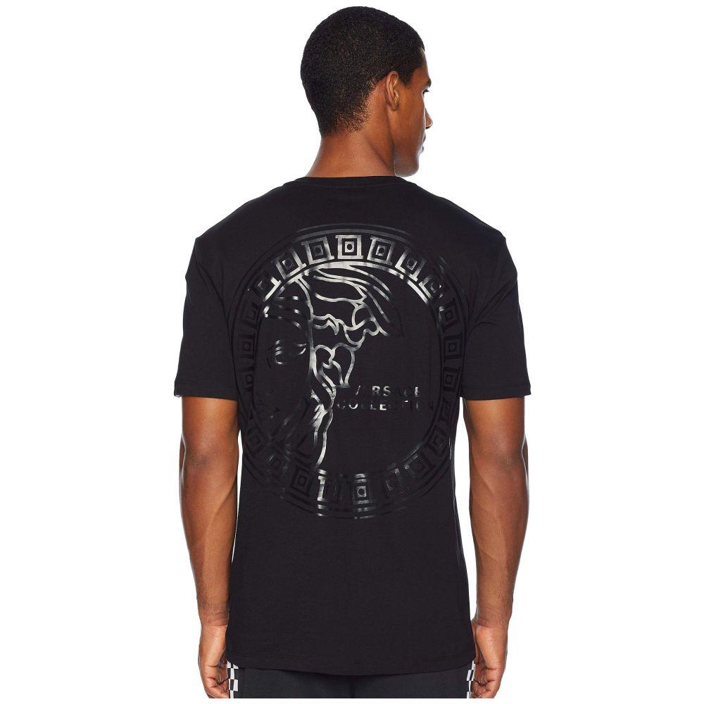 ヴェルサーチ Versace Collection メンズ トップス Tシャツ【Big Medusa Tee】Black
