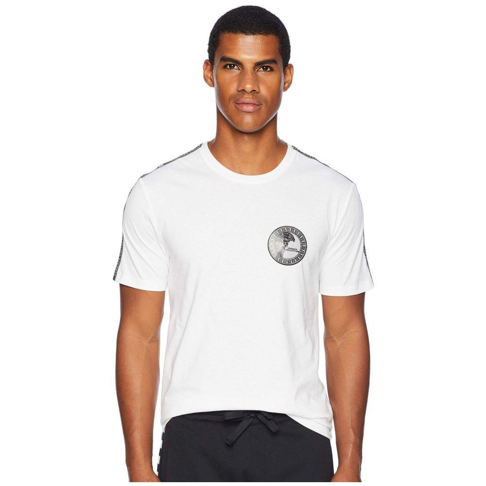 ヴェルサーチ Versace Collection メンズ トップス Tシャツ【Taping Detail Tee】Black