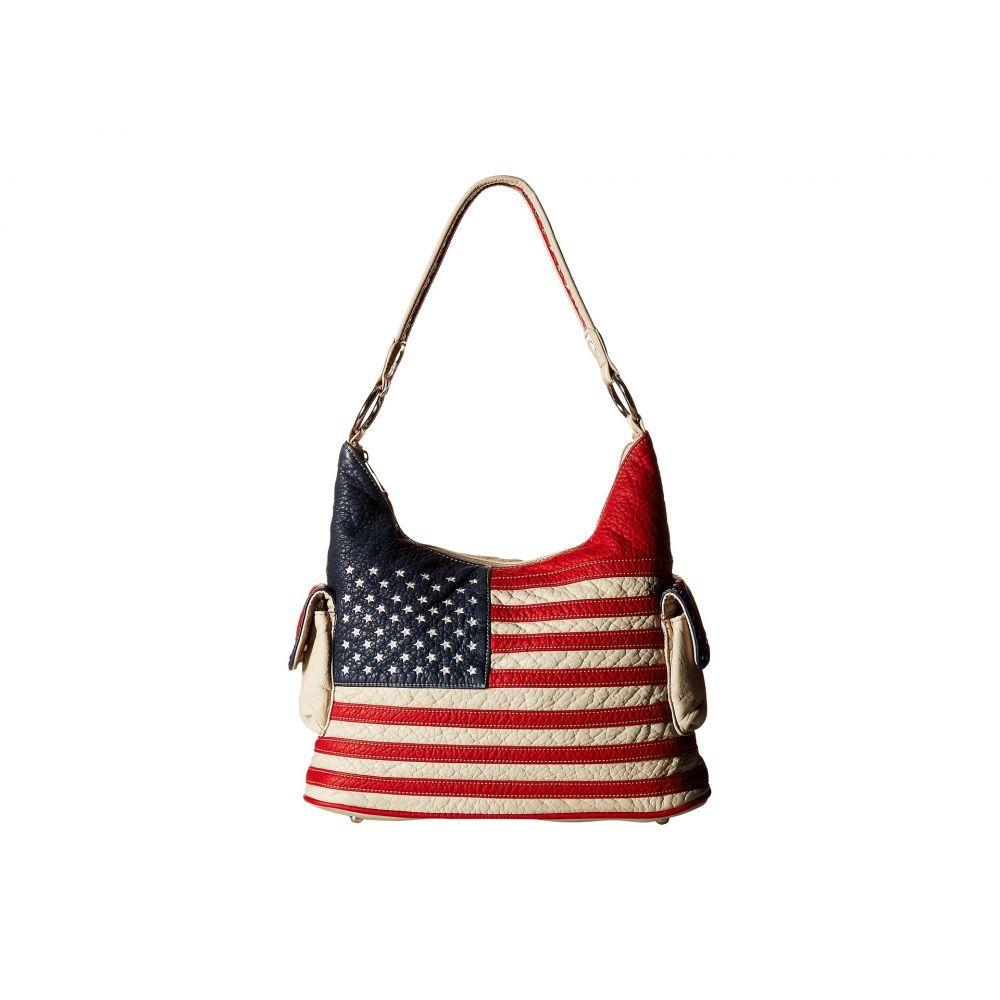 エムアンドエフ ウエスタン M&F Western レディース バッグ ショルダーバッグ【Americana Bucket Bag】Multi