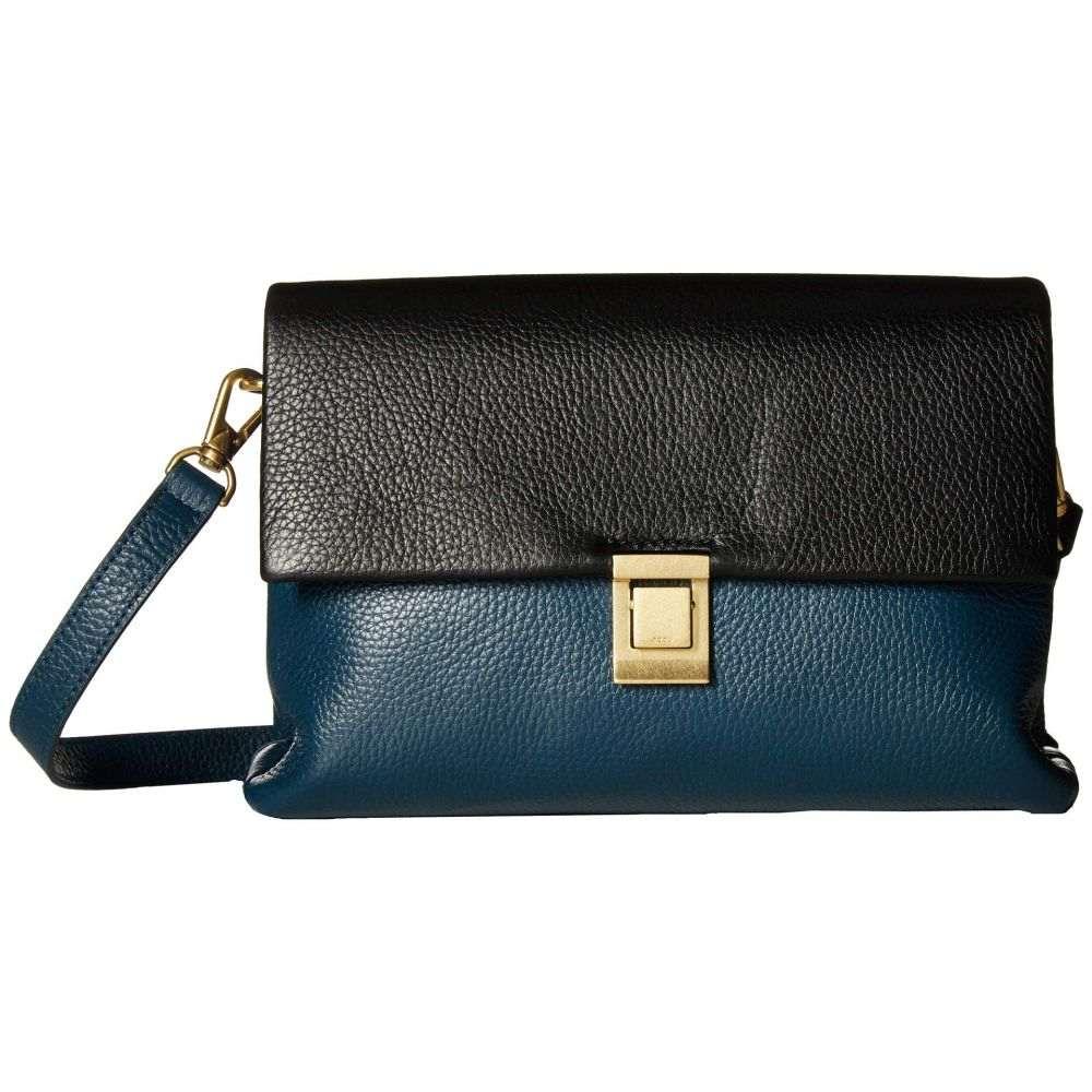 エコー ECCO レディース バッグ ハンドバッグ【Isan 2 Handbag】Black/New Petrol