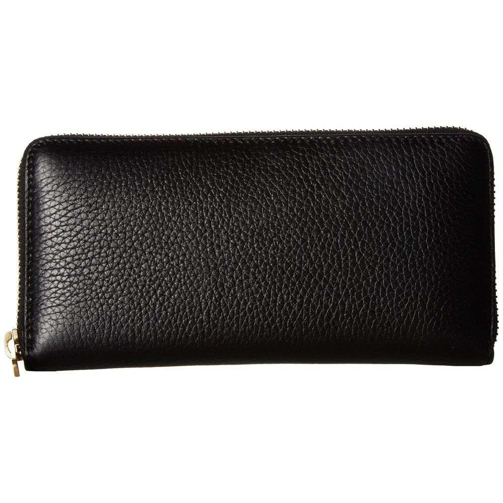エコー ECCO レディース 財布【Isan 2 Large Zip Wallet】Black