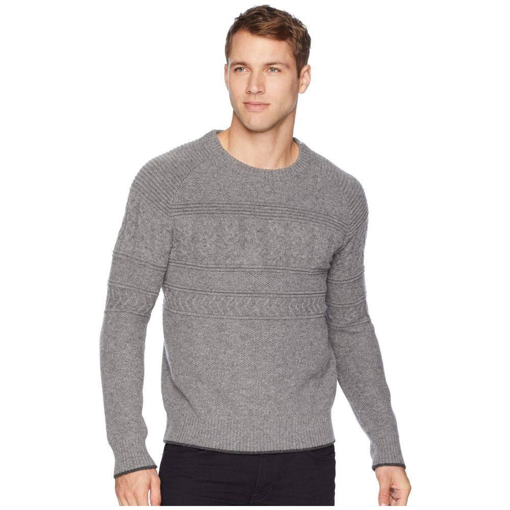 オバマイヤー Obermeyer メンズ トップス ニット・セーター【Textured Crew Neck Sweater】Zinc Grey