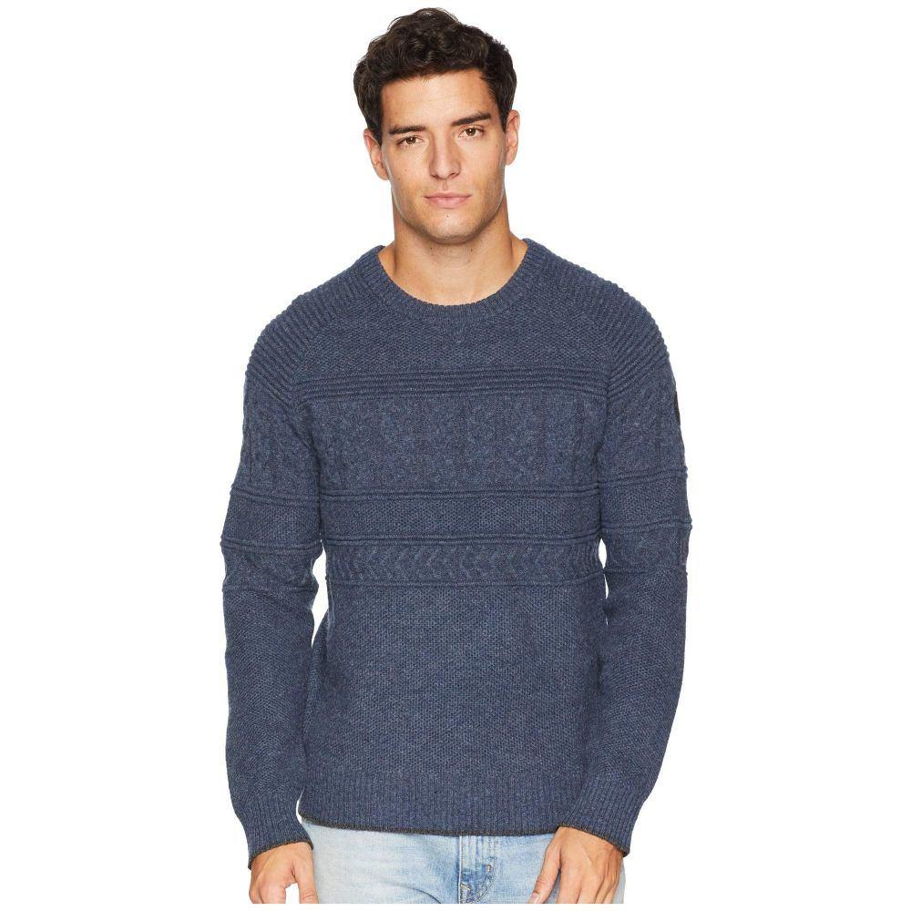オバマイヤー Obermeyer メンズ トップス ニット・セーター【Textured Crew Neck Sweater】Trident