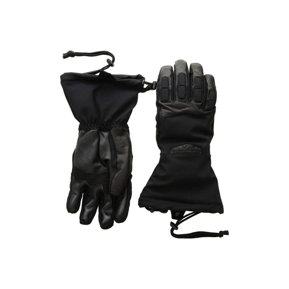 オバマイヤー Obermeyer メンズ スキー・スノーボード グローブ【Guide Gloves】Black