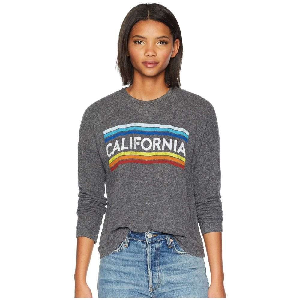 オリジナル レトロ ブランド The Original Retro Brand レディース トップス Tシャツ【California Super Soft Haaci Pullover】Black Haaci