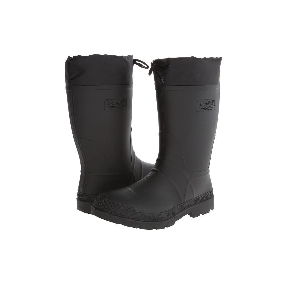 カミック Kamik メンズ シューズ・靴 レインシューズ・長靴【Hunter】Black