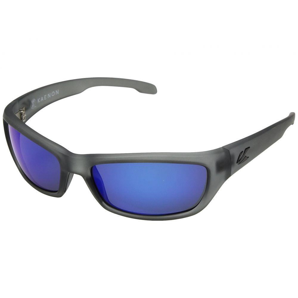 カエノン Kaenon メンズ スポーツサングラス【Cowell】Carbon Matte Grip Ultra Pacific Blue Mirror