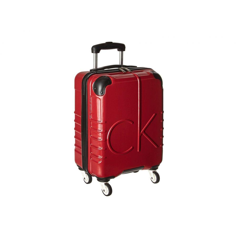カルバンクライン Calvin Klein レディース バッグ スーツケース・キャリーバッグ【CK-526 Islander 19' Upright Suitcase】Burgundy