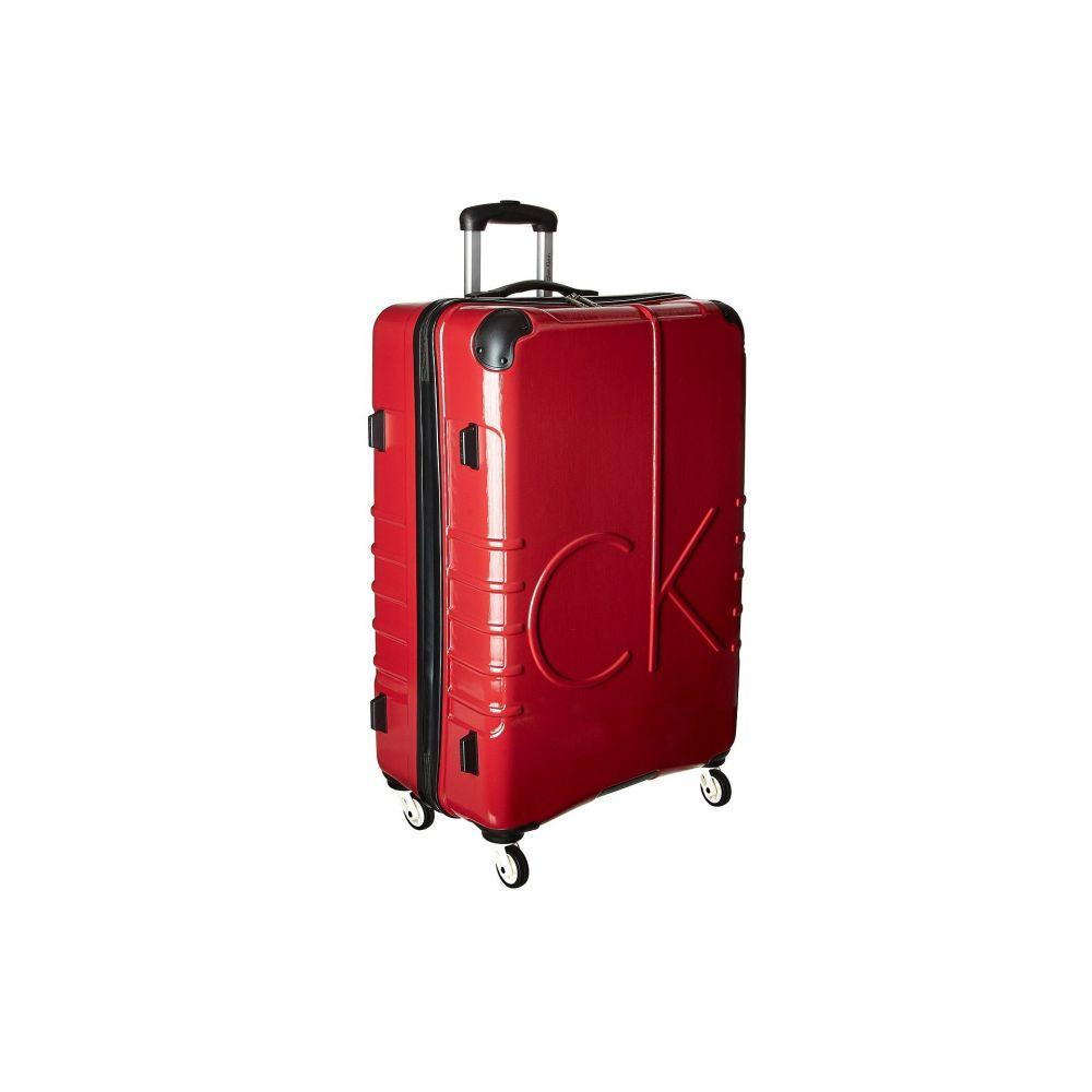カルバンクライン Calvin Klein レディース バッグ スーツケース・キャリーバッグ【CK-526 Islander 28' Upright Suitcase】Burgundy