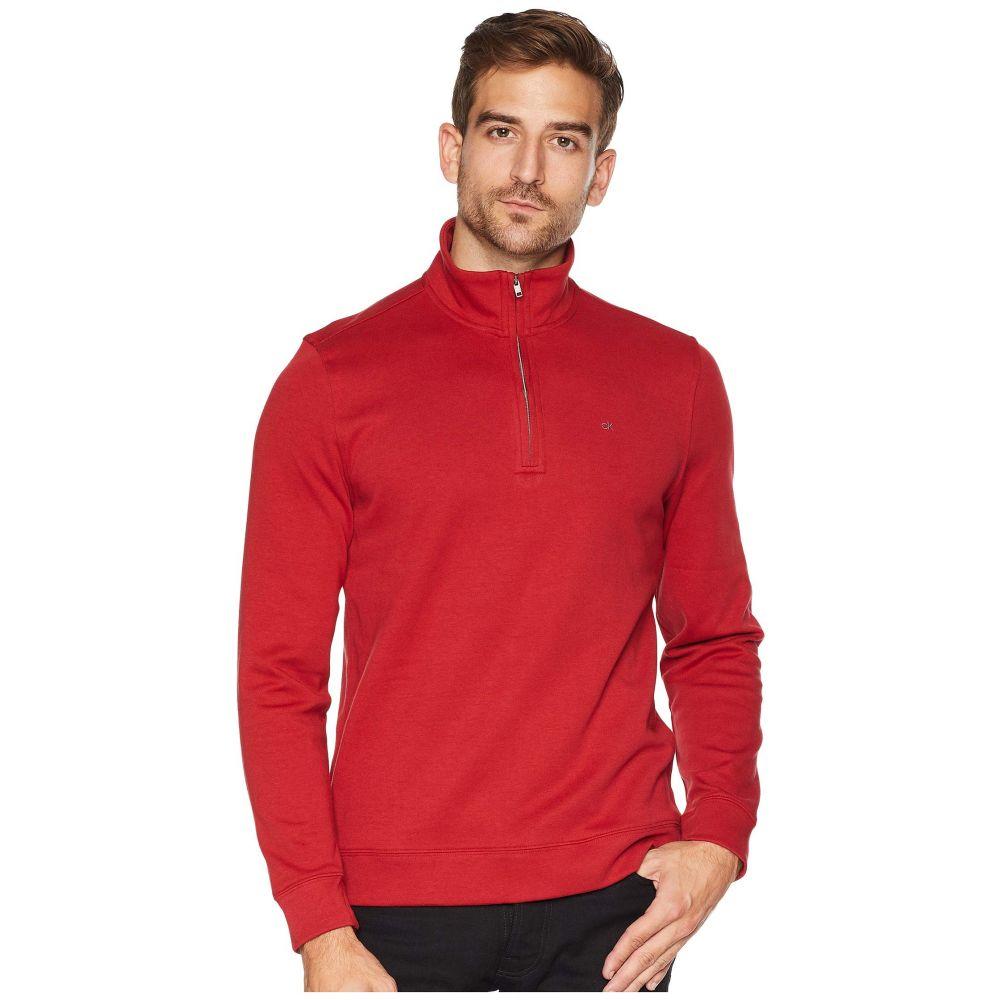 カルバンクライン Calvin Klein メンズ トップス【The Classic 1/4 Zip】Artemis Red