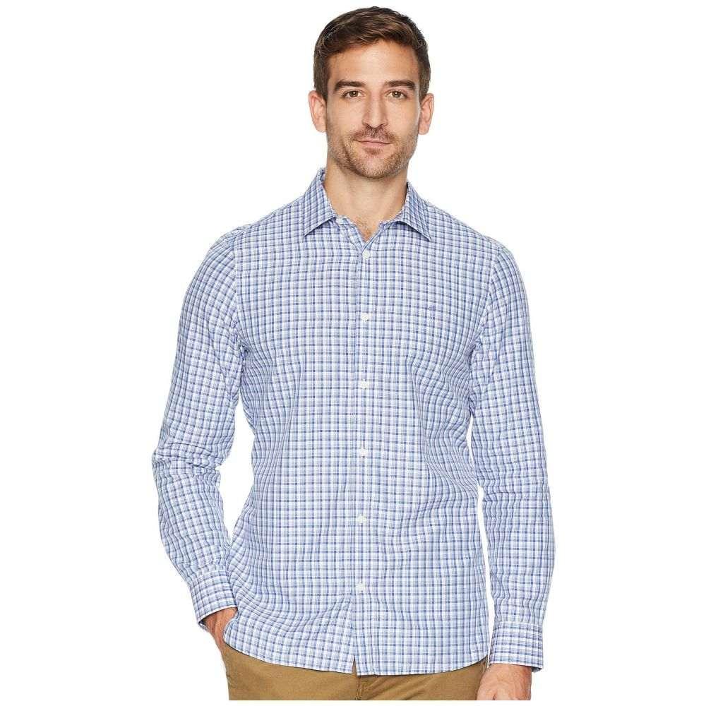 カルバンクライン Calvin Klein メンズ トップス シャツ【The Cotton-Cashmere Shirt】Clear Sky