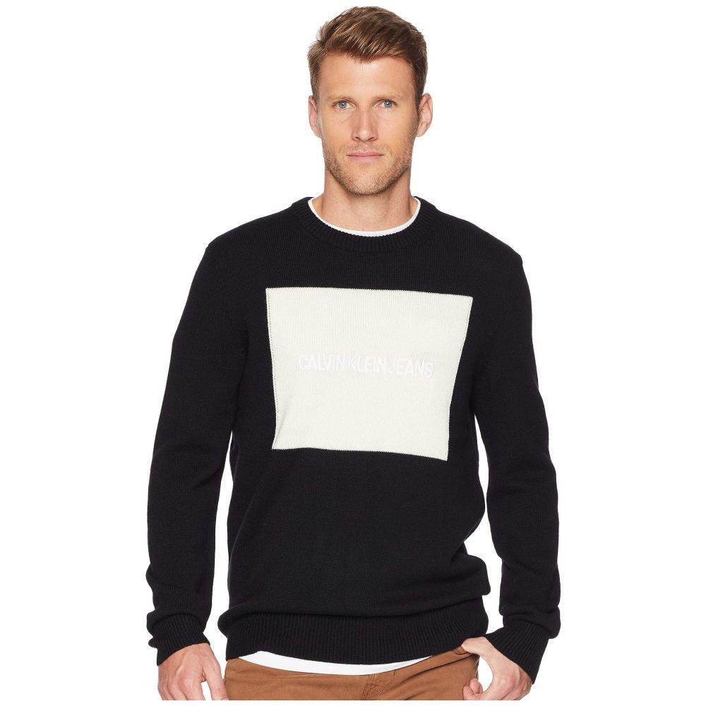 カルバンクライン Calvin Klein Jeans メンズ トップス ニット・セーター【Logo Sweater】Black