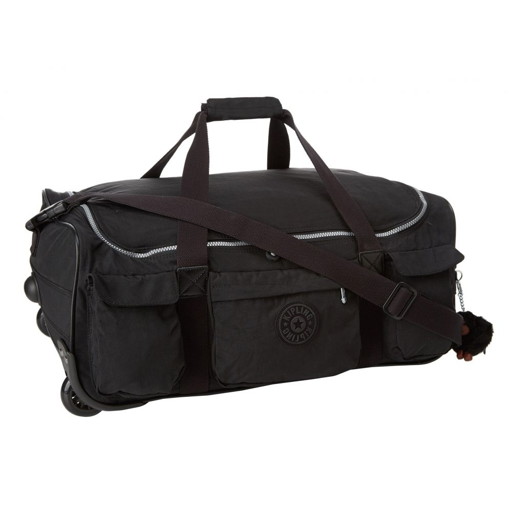 キプリング Kipling レディース バッグ スーツケース・キャリーバッグ【Discover Small Wheeled Luggage Duffle】Black