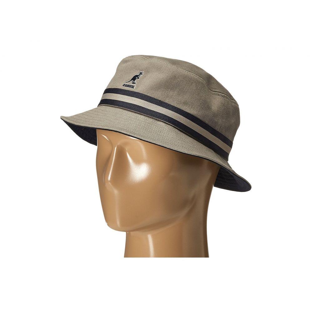 カンゴール Kangol レディース 帽子 ハット【Stripe Lahinch】Grey